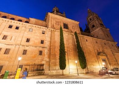 New Cathedral of Salamanca. Salamanca, Castile and Leon, Spain.