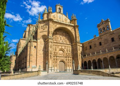 New Cathedral of Salamanca. Salamanca city, Castile and León, Spain. Picture taken – 29 july 2017.