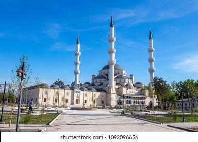New Central mosque, Bishkek, Kyrgyzstan