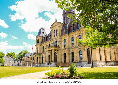 New City Hall of Fredericton, NB