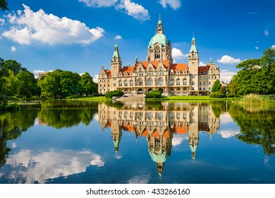 New City Hall of Hannover, Germany