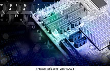 New computer technology.Generation