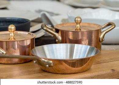 the new copper cookware - pots and pans