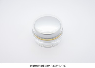 The new cosmetic products White background