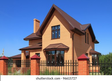 New cottage from brick
