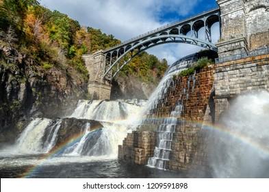 New Croton Dam, Croton-On-Hudson, Croton Gorge Park, NY, USA