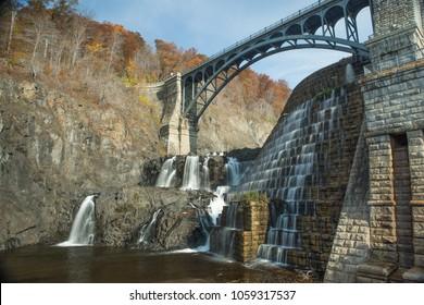 New Croton Dam, Croton-On-Hudson, NY in late Autumn