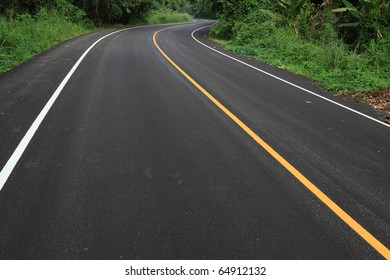 new curve road