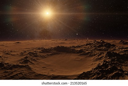 New day dawning deep space