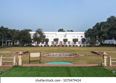 New Delhi. India, 26 January 2018: Birla House or Birla Bhavan, in New Delhi, India, is the house where Mahatma Gandhi spent the last 144 days of his life and was assassinated on January 30, 1948.
