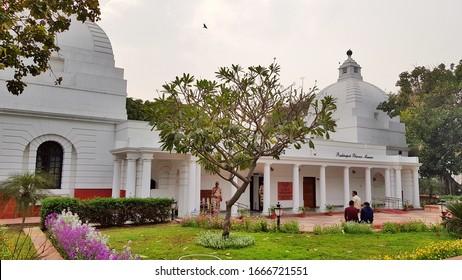 New Delhi, India – March 07, 2020: The outer view of Rashtrapati Bhavan Museum, Delhi.