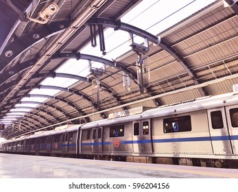Delhi Metro Images, Stock Photos & Vectors   Shutterstock