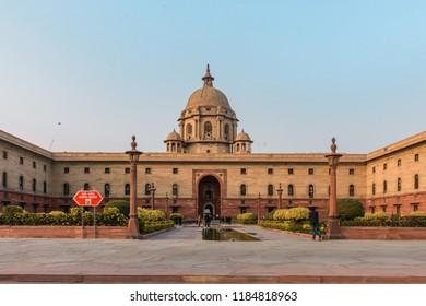 New Delhi, India- May 16 2018: Indian Palace