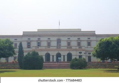 NEW DELHI INDIA - NOVEMBER 26, 2017: Nehru Memorial Museum Library New Delhi India
