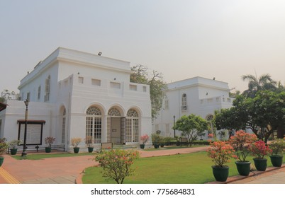 NEW DELHI INDIA - NOVEMBER 26, 2017: Gandhi Smriti museum in New Delhi India