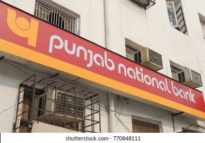 NEW DELHI INDIA - NOVEMBER 27, 2017: Punjab National bank. Punjab National bank is is an Indian multinational banking and financial services founded in 1894.