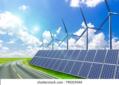 New energy, future solar and wind power will make the world a better place.