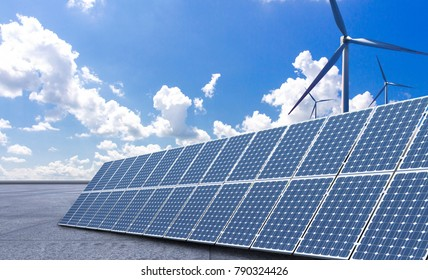 New energy, such as photovoltaic and wind power, will make the world a better place.