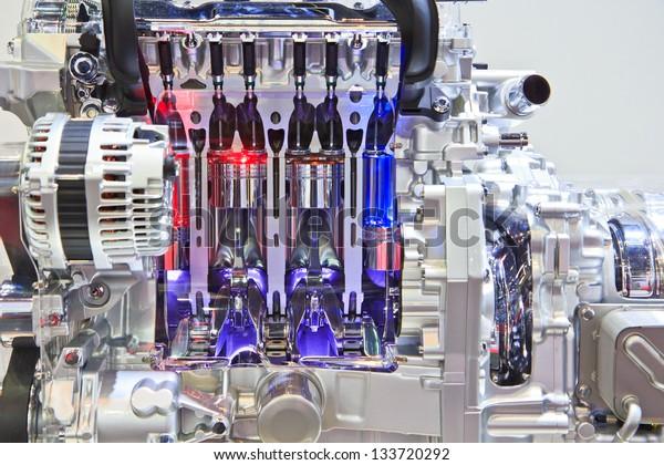 New engine new car