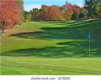 New England Golf in Autumn