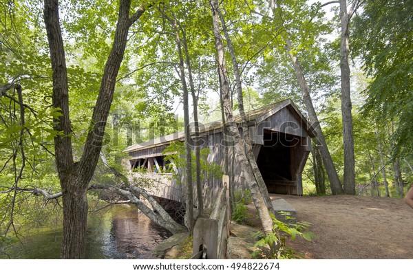 New England old fashion bridge