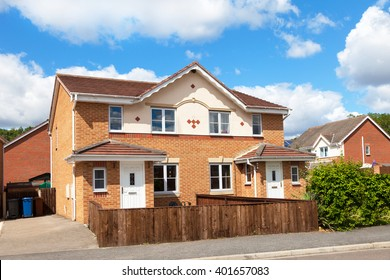 New english semi detached house