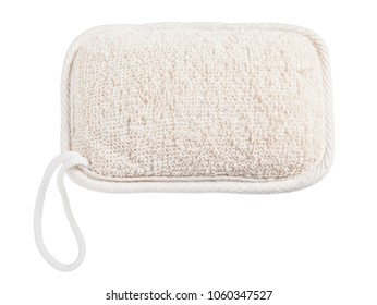 New facecloth isolated on white