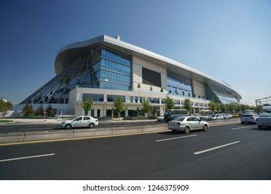 New fast train station of Ankara city 12.2.2018