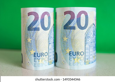 New fiscal year 2020 - Euro exchange rate - 20 Euro bills