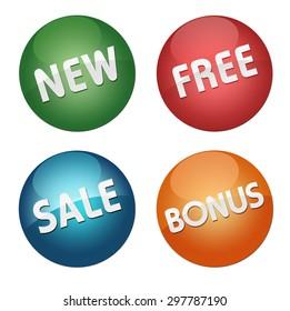new free sale bonus icons