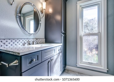blue com bathroom navy mirror vanity normagdesigns cobalt