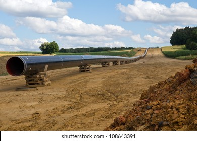 new gas pipelines being built in Bavaria