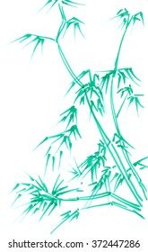 The new green bamboo