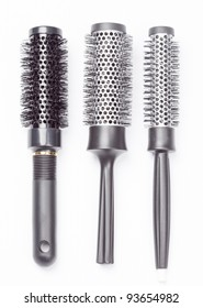 a new hair brushes in detail