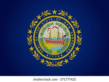 The New Hampshire State Flag