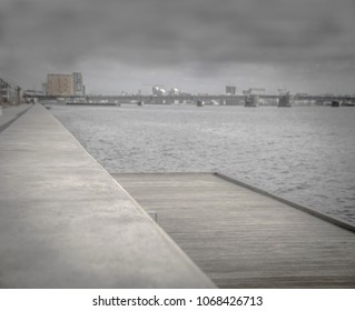 The new harbour front of Aalborg in Denmark