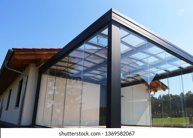 New high-quality conservatory