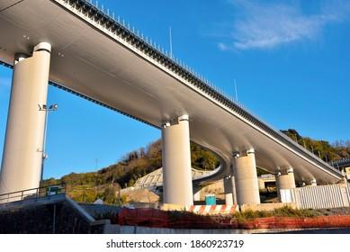 the new highway bridge (san giorgio) genoa italy