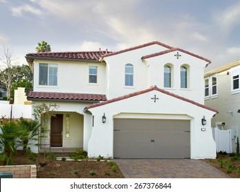New Home Building Exterior House