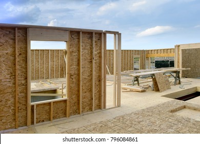 New Home House Construction Framing Lumber Builders Carpentry Craftsman