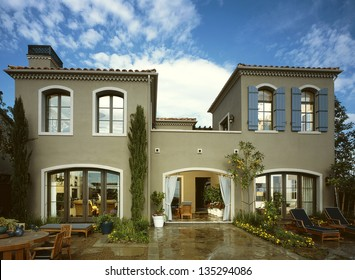 New Home House Exterior Architecture Stock Images,  Architectural Photos by Frank Short. Photo images of Interiors and Exteriors of architecture.