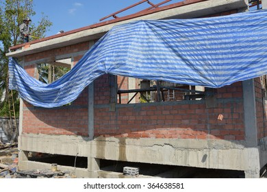 New Home Under Construction modern style