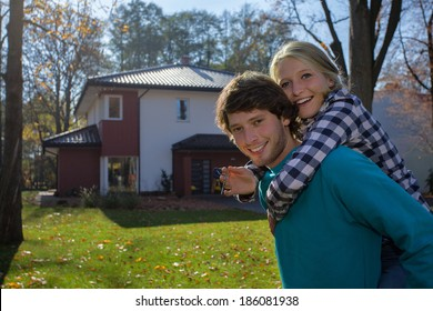 New home for a  young couple who want to