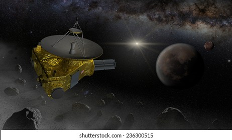 New Horizons is designed to fly past one or more Kuiper belt objects after passing Pluto. Objects must be found within a cone, within 55 AU, because the flight path is determined by the Pluto flyby.
