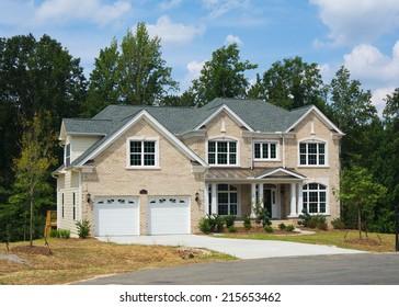 New House in Triangle area, North Carolina.