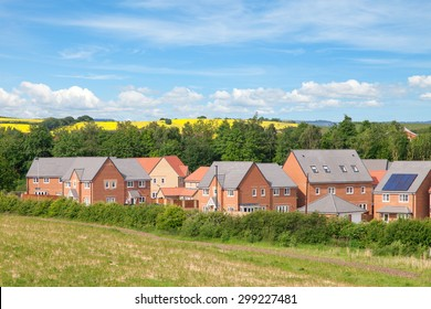 New houses and beautiful english view