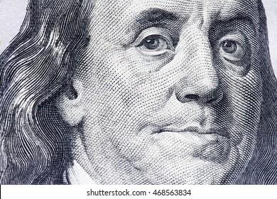 new hundred dollar bill closeup