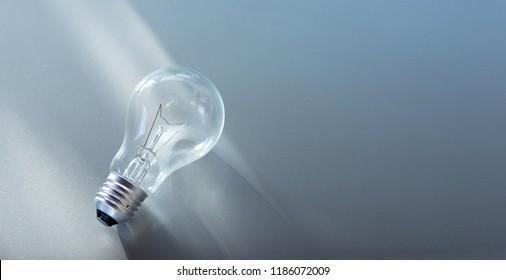 New idea. Creative idea and Innovation concepts. Copy space
