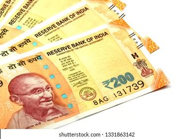 200 Rupee Note Images, Stock Photos & Vectors   Shutterstock
