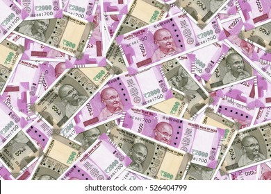 New Indian Currency Rupees Five Hundred and Two Thousand